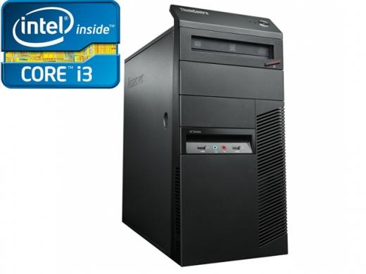 PC LENOVO THINKCENTRE M82 Intel Core i3 - 3,3GHZ 8GB-RAM 750GB-HDD DVD-RW